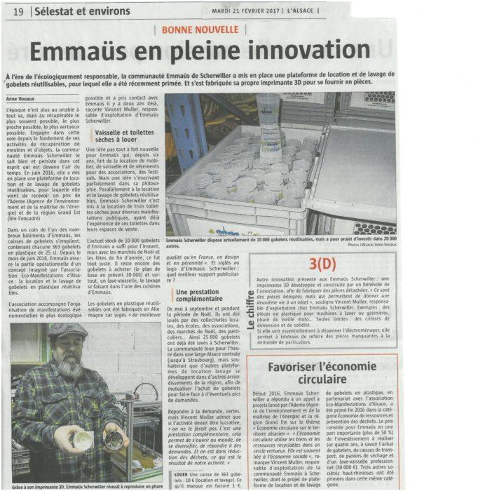 Article Presse du 21 02 2017